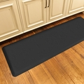 WellnessMats Motif Collection - Entwine - Black - 6' x 2' - ME62WMRBLK