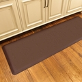 WellnessMats Motif Collection - Entwine - Brown - 6' x 2' - ME62WMRBRN