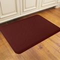 WellnessMats Motif Collection - Entwine - Burgundy - 3' x 2' - ME32WMRBUR