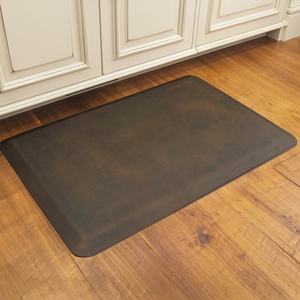 WellnessMats Motif Collection - Linen - Antique Dark - 3' x 2' - ML32WMRDB