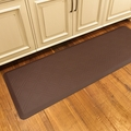 WellnessMats Motif Collection - Moire - Brown - 6' x 2' - MM62WMRBRN