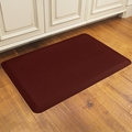 WellnessMats Motif Collection - Moire - Burgundy - 3' x 2' - MM32WMRBUR