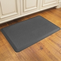 WellnessMats Motif Collection - Moire - Grey - 3' x 2' - MM32WMRGRY