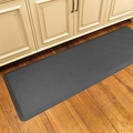 WellnessMats Motif Collection - Moire - Grey - 6' x 2' - MM62WMRGRY