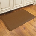 WellnessMats Motif Collection - Moire - Tan - 3' x 2' - MM32WMRTAN