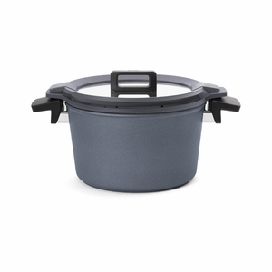Woll Concept Plus 5.25 Qt Covered Stock Pot w/5-Function Silicone Insert - 124CPI