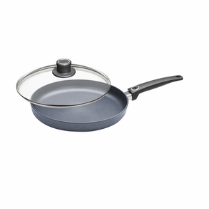 "Woll Diamond Plus/Diamond Lite 12.5"" Fry Pan w/Lid - 532DPL"