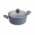 Woll Diamond Plus/Diamond Lite Induction 3.2 Qt. Stock Pot w/Lid - 120DPIL