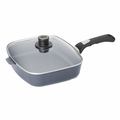 Woll Diamond Plus/Diamond Lite Induction 5 Qt. Rectangle Chef's Pan w/Lid & Detachable Handle - 1629DPIL