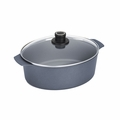 Woll Diamond Plus/Diamond Lite Induction 6.3 Qt. Oval Roaster w/Lid - 3126DPIL