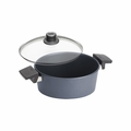"Woll Diamond Plus/Diamond Lite Induction 9.5"" Saute Casserole w/Lid - 824DPIL"