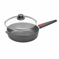 "Woll Nowo Titanium 10"" Saute Pan w/ Lid & Detachable Handle - 1726NL"