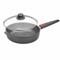 "Woll Nowo Titanium 11"" Saute Pan w/ Lid & Detachable Handle - 1728NL"