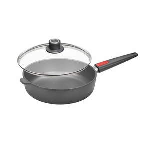 "Woll Nowo Titanium 8"" Saute Pan w/ Lid & Detachable Handle - 1720NL"