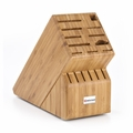 Wusthof 17-Slot Knife Block - Bamboo - 2267-5