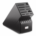 Wusthof 17-Slot Knife Block - Black - 2267-4