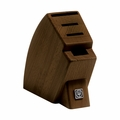 Wusthof 4-Slot Mobile Knife Block - Walnut - 7250-7AW