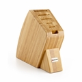 Wusthof 6-Slot Big Studio Knife Block - Bamboo - 7249-1