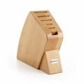 Wusthof 6-Slot Big Studio Knife Block - Natural - 7249