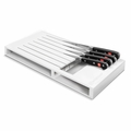 Wusthof - 7-Slot In-Drawer Storage Tray - White Plastic - 7279