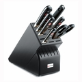 Wusthof Classic - 8 Pc Deluxe Knife Block Set - Black - 8408-4