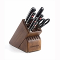 Wusthof Classic - 8 Pc Deluxe Knife Block Set - Walnut - 8408-3