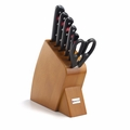 Wusthof Gourmet - 7 Pc Mobile Knife Block Set - Cherry - 8940-2