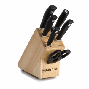 Wusthof Grand Prix II -7 Pc Knife Block Set - 8845