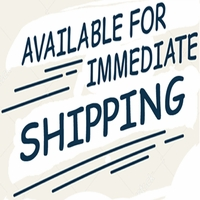 Immediate Shipping
