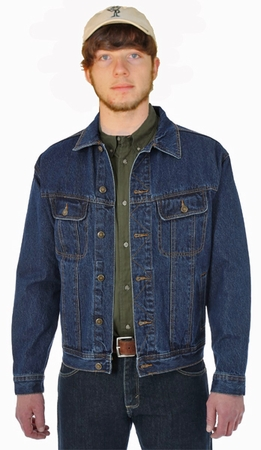 BulletBlocker NIJ IIIA Bulletproof Classic Denim Jacket