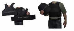 BulletBlocker NIJ IIIA Bulletproof Defender Plus Vest
