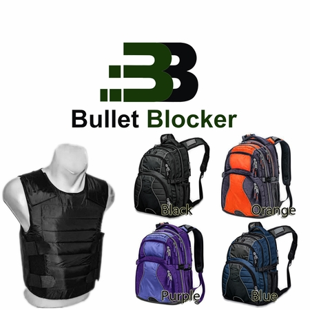 BulletBlocker NIJ IIIA Bulletproof Everyday Protection