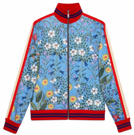 Bulletproof Gucci New Flora Technical Jersey Jacket