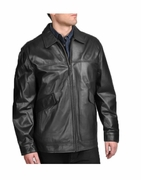 BulletBlocker NIJ IIIA Bulletproof Lamb Leather Jacket
