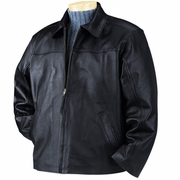 BulletBlocker NIJ IIIA Bulletproof Leather Jacket
