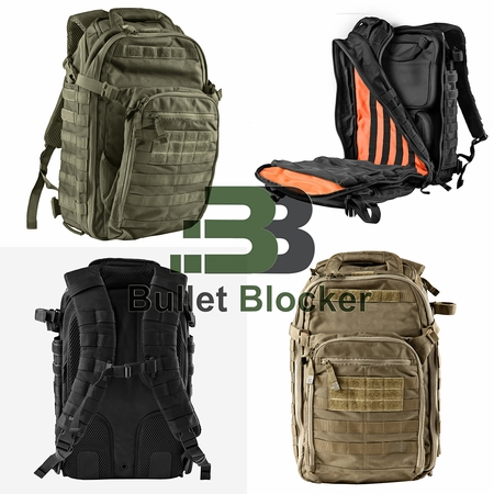 BulletBlocker NIJ IIIA Bulletproof MACTAC Backpack