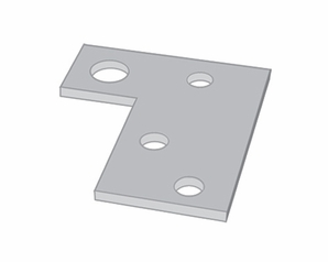 Aldon 4014-26 Shim For Hinged Derails With Pop-Up Signs-1/8""