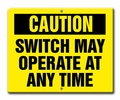 Aldon 4015-149 Caution Switch May Operate At Any Time