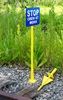 Aldon 4015-188 Spear Point Sign Holder