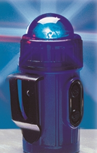 Aldon 4015-191 Clip-On/Stick-On Flashing Safety Lights - Blue