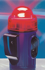 Aldon 4015-192 Clip-On/Stick-On Flashing Safety Lights - Red