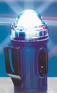 Aldon 4015-193 Clip-On/Stick-On Flashing Safety Lights - Clear