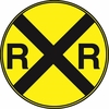 Aldon 4015-197 R.R. Advance Warning Sign
