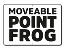 Aldon 4015-201 Moveable Frog Point Sign