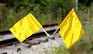 Aldon 4015-21 Yellow Nylon Flags