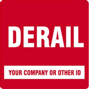 "Aldon 4015-269 Customized ""Derail"" (Red)"