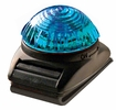 Aldon 4015-27 Quick-Flash Mini Light, Blue Lens, Pocket Clip, W/Batteries