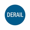 Aldon 4015-71 Replacement Derail Sign In Blue