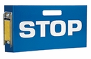 "Aldon 4015-98 Magnetic Locomotive Cab Sign (Stop) 8-1/2"" X 15"""