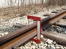 Aldon 4022-18 All-Rail Head Wear Gauge